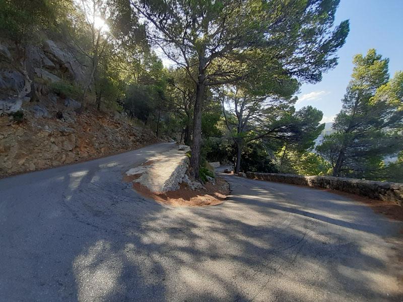Strada verso Port de Valldemossa, Maiorca