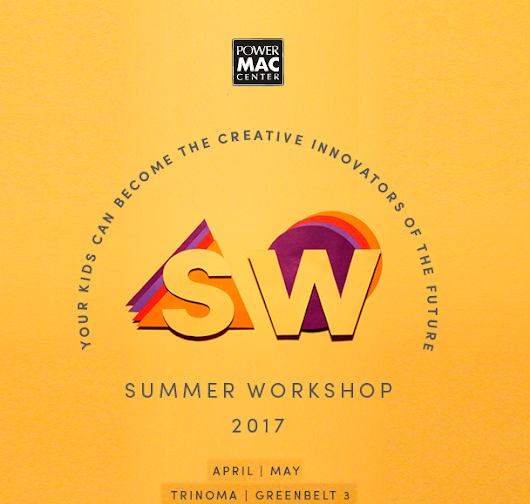 Power Mac Center Summer Workshop 2017: To Help Kids Become Creative Innovators of the Future