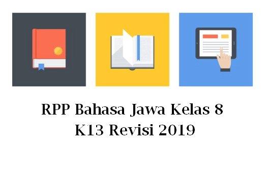 RPP Bahasa Jawa Kelas 8 K13 Revisi 2019