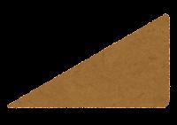 直角三角形のイラスト