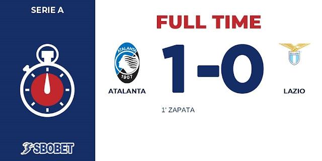 Replay Gol Atalanta vs Lazio Skor Akhir 1-0