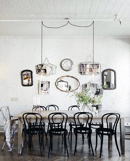 Dining Rooms From Elle Decor: Dreams In HD: Home Tour :: A Vintage Harlem Brownstone