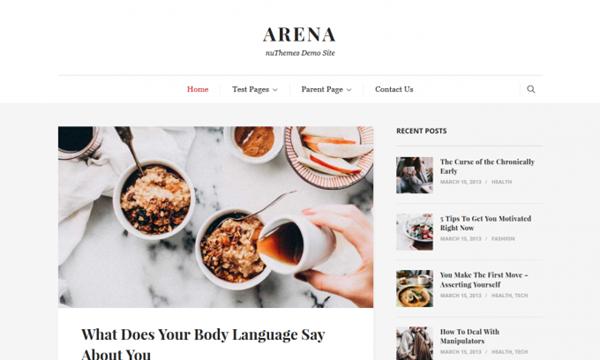 Arena WordPress Themes