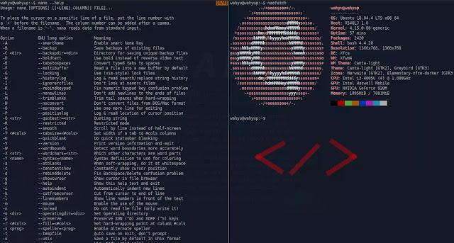 Belajar Linux - Cara Menggunakan Nano Text Editor Linux