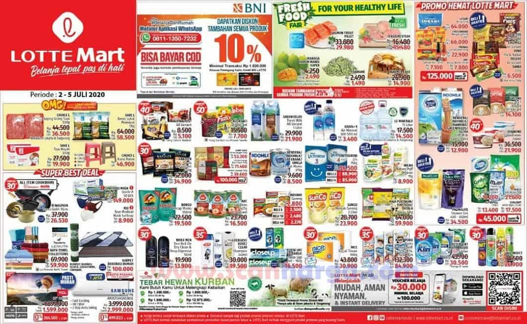 Katalog Promo JSM Lottemart Weekend 2 - 5 Juli 2020