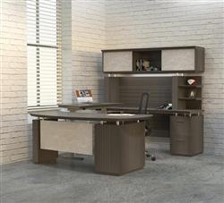 Ergonomic U Shaped Desk
