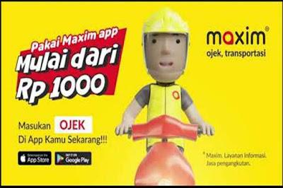 Review Maxim Untuk Para Calon Driver Online
