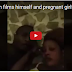 Married man films himself and pregnant girlfriend insulting wife (WATCH VIDEO)