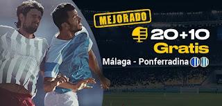 bwin promocion Málaga vs Ponferradina 14 enero 2020