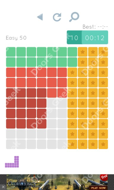 Cheats, Walkthrough for Blocks and Shapes Level 50