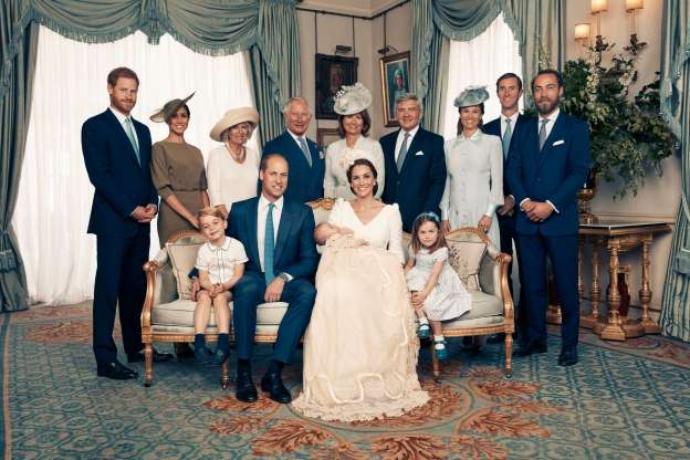 Prince Louis christening pictures: Official photographs of royal baby's christening released