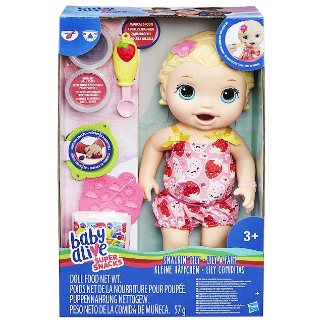 Baby Alive doll in box with accessories