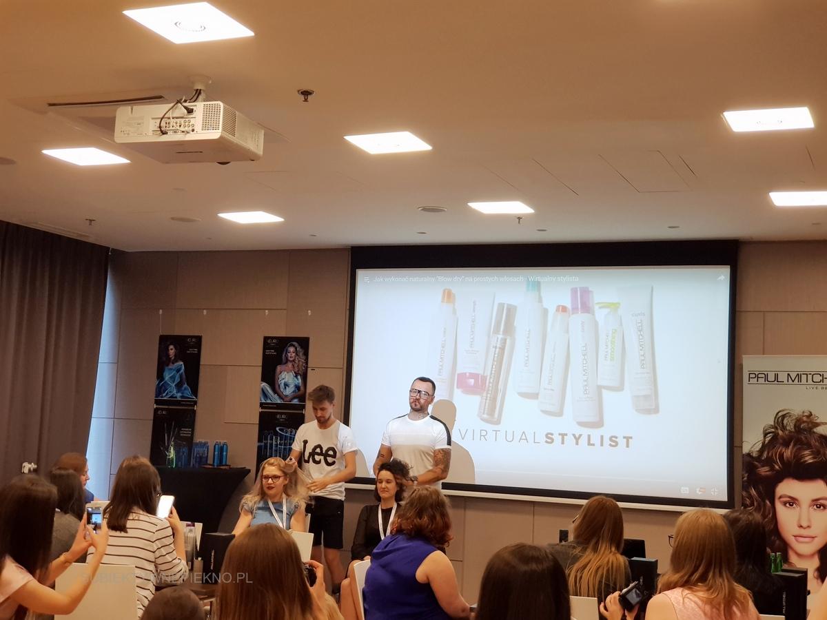 Warsztaty blogerskie Beauty by Bloggers - stylizacja włosów Łukasz Urbański