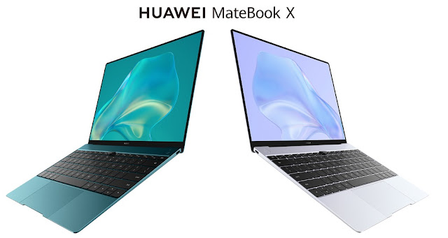 HUAWEI MateBook X 2020 Launched With 16GB RAM, i7 10th Gen Processor & More