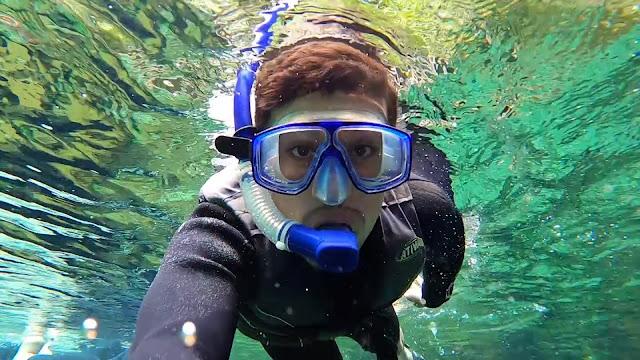 Flutuação Nascente Azul [Foto: Programa Tudo de Bom SBT Maranhão]