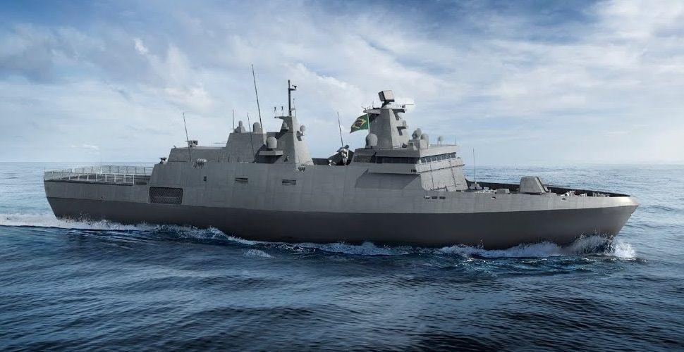 Estaleiro de Itajaí prepara infraestrutura para construir fragatas da Marinha