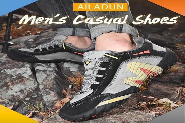 أحذية رجالية AILADUN - المشي في الهواء الطلق أمقاسات من 38 الى 47