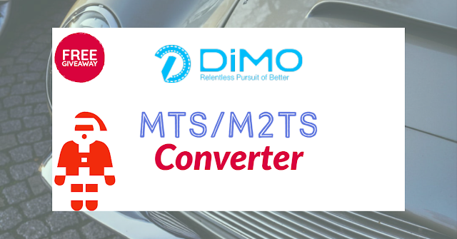 Dimo MTS Converter Free Year Giveaway