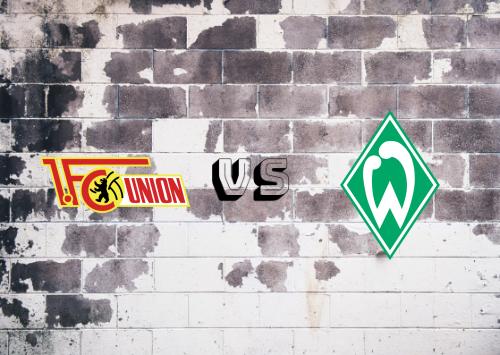 Union Berlin vs Werder Bremen  Resumen