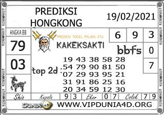 Prediksi Togel HONGKONG DUNIA4D 19 FEBRUARI 2021