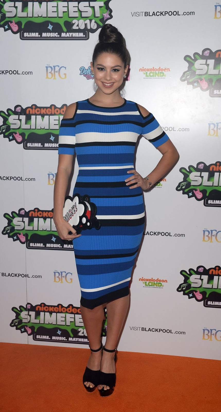 Kira Kosarin At First UK Nickelodeon Slimefest In Blackpool