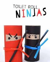 Manualidades para niños con rollos de papel higiénico reciclados
