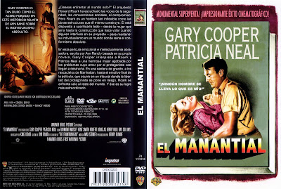 Carátula dvd: El manantial (1949, The Fountainhead)