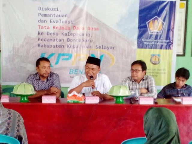 KPPN Dan PMD, Pantau Penggunaan Dana Desa Tahap I Ke Kalepadang