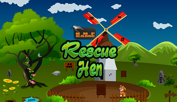 Play Knfgames Rescue Hen