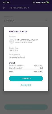 kirim uang dari aplikasi ovo