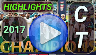 Cricket Videos - ICC CT 2017 Video Highlights