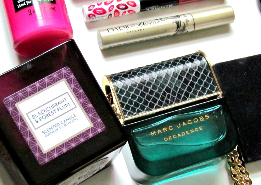 2015 beauty favourites, beauty blogger favourites, marc jacobs decadence review, primark scented candles review