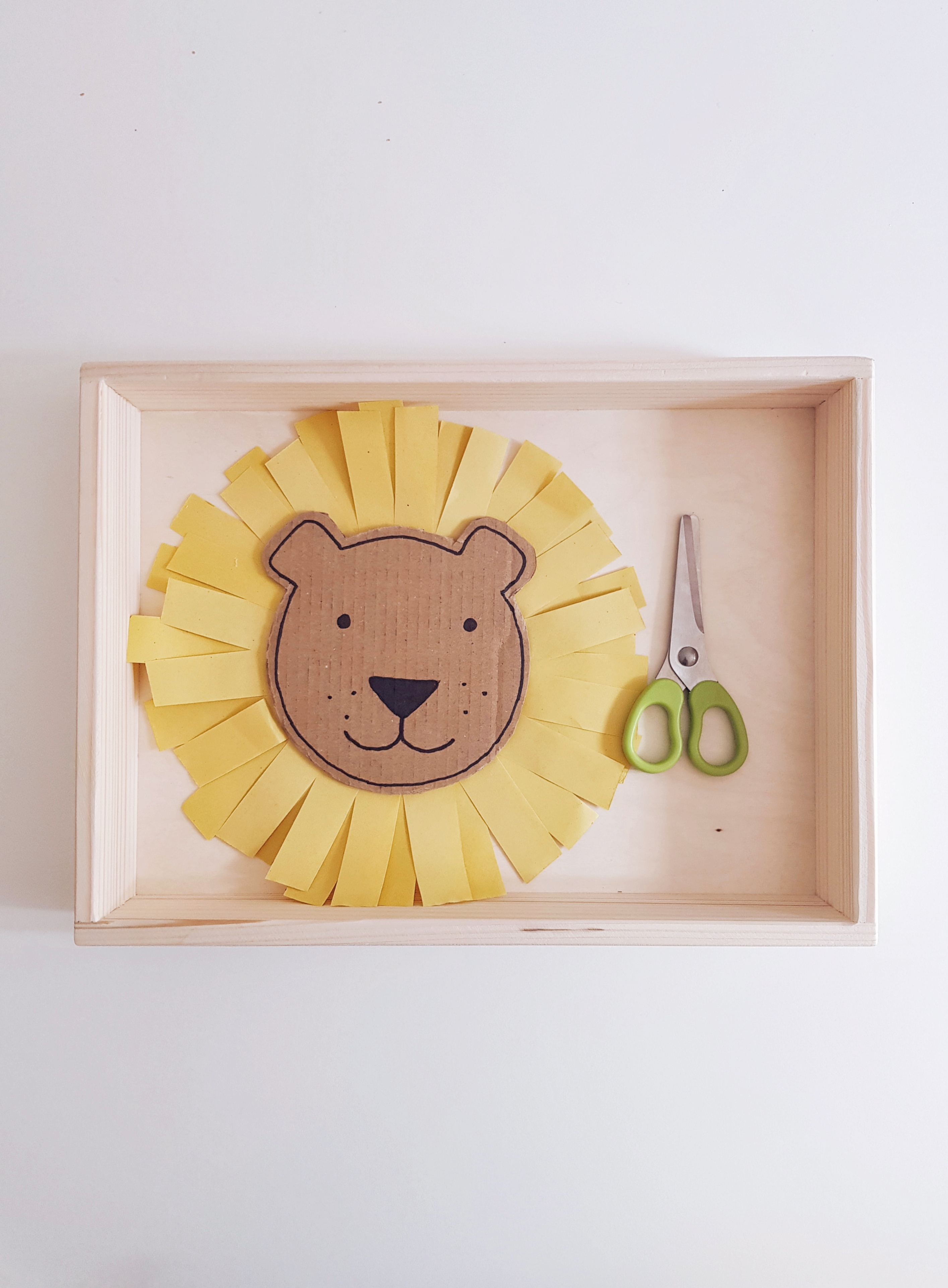 montessori cutting activity
