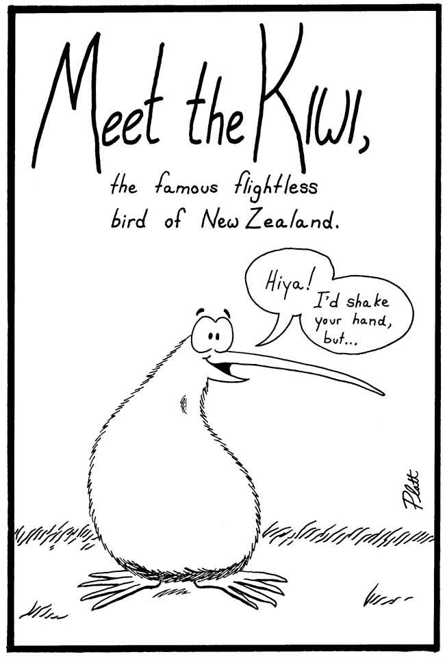 Plattitudes: Kiwi conservation comics