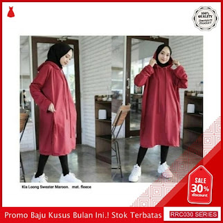 RRC030S35 Sweater Terbaru Long Hodie Kia Wanita Terbaru BMGShop