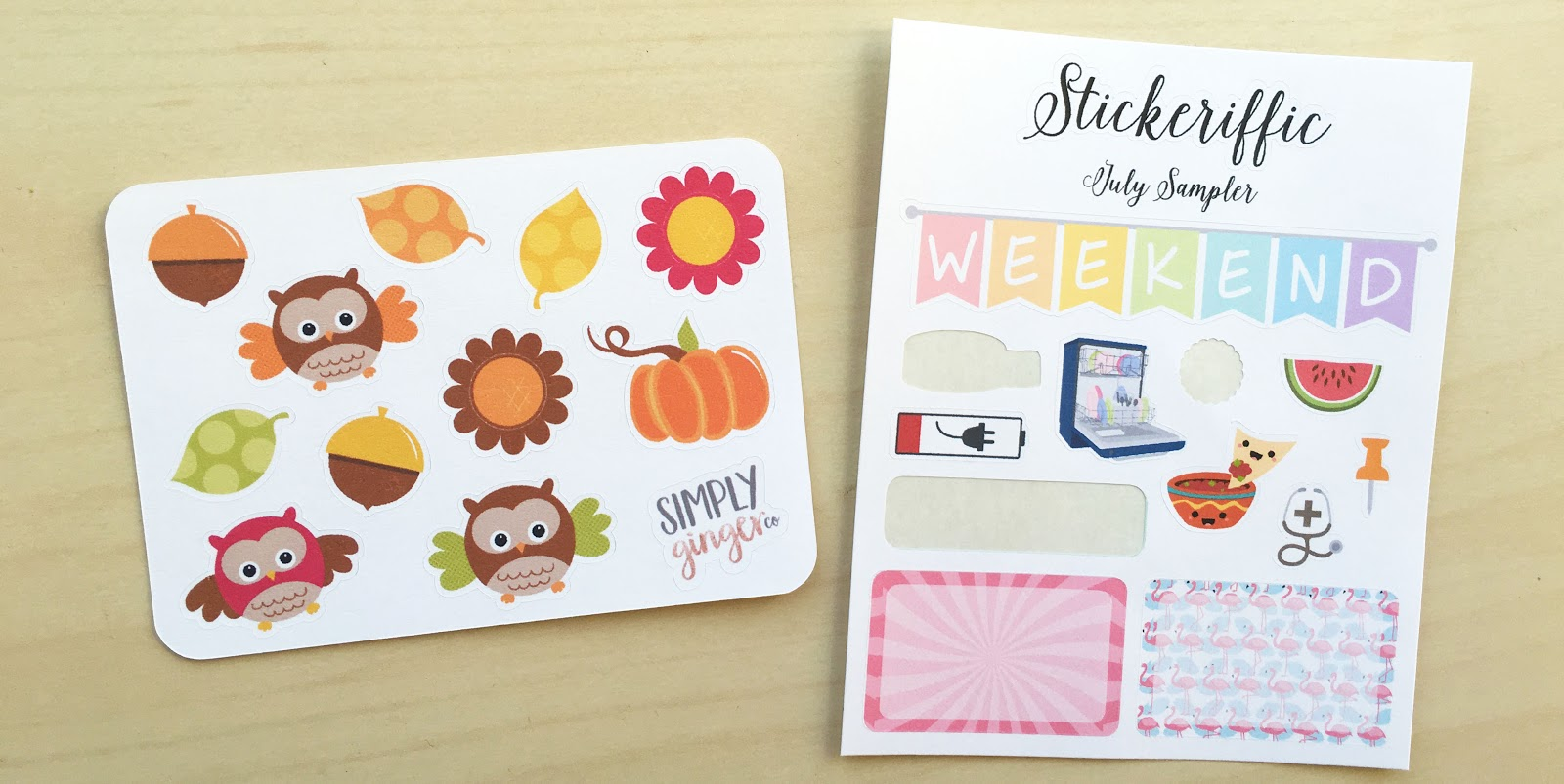 An Etsy Planner Sticker Haul | Akinokiki