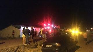 Atropelamento deixa um morto e dois feridos no Damião