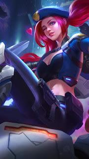 Layla SABER SQUAD Breacher Heroes Marksman of Skins V3