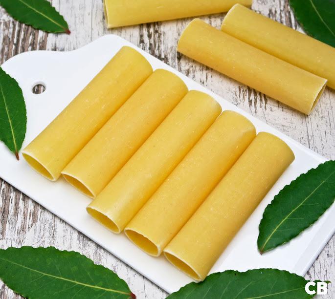 Rolletjes ongekookte cannelloni