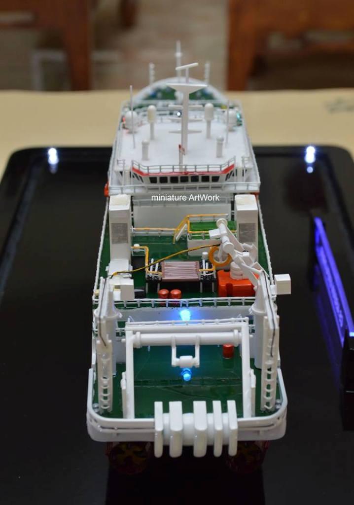 Miniatur Kapal Laut Mv Asean Explorer Location Batam Terbaik