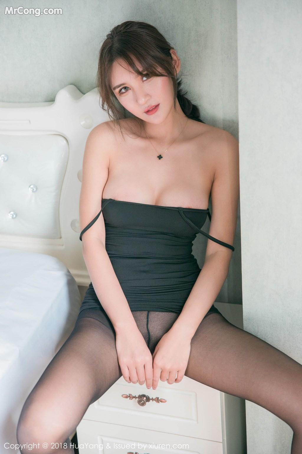 Image HuaYang-2018-11-14-Vol.095-SOLO-MrCong.com-020 in post HuaYang 2018-11-14 Vol.095: Người mẫu SOLO-尹菲 (46 ảnh)