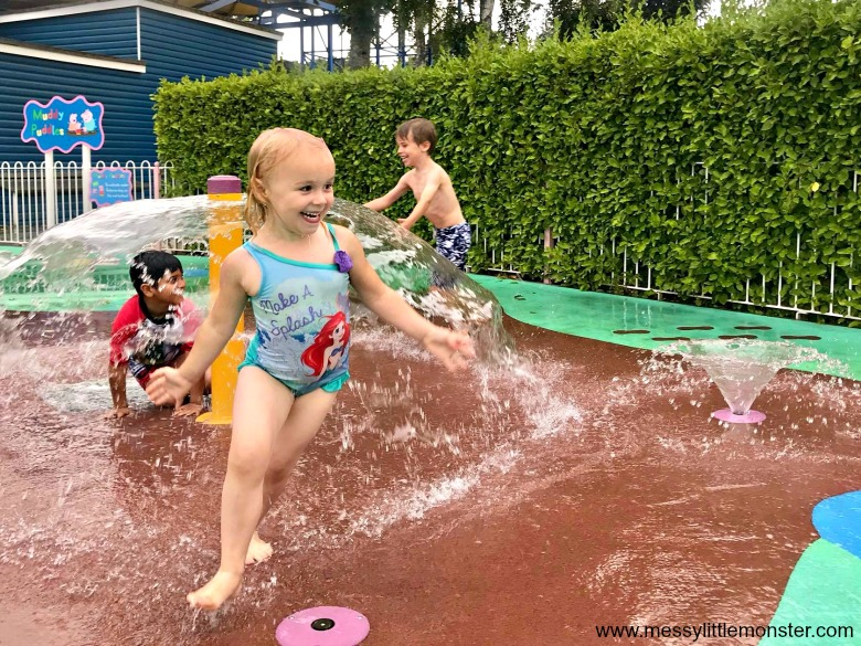 splash park at peppa pig world