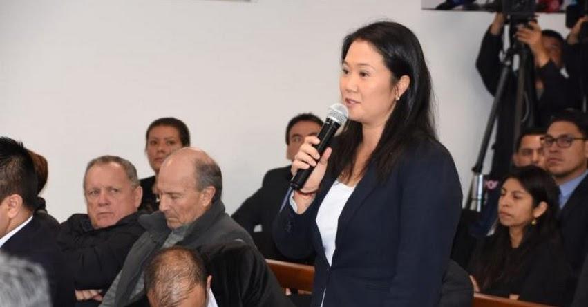 KEIKO FUJIMORI: Poder Judicial resolverá hoy pedido de prisión preventiva contra la lideresa de Fuerza Popular