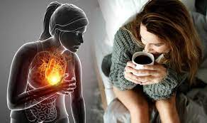coffee after heart attack and stents