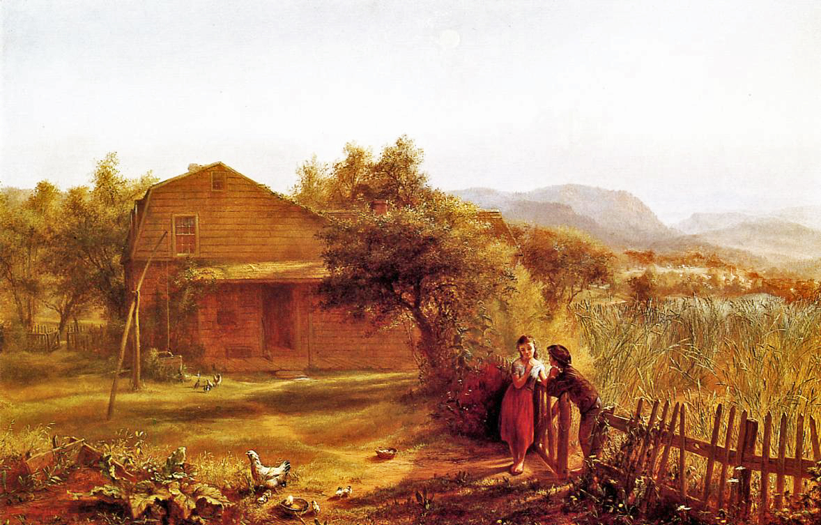 19th Century American Paintings Jerome Thompson