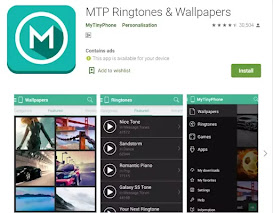 MTP Ringtone Wallpaper Downloader