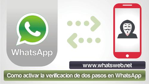 activar la verificacion de dos pasos en WhatsApp
