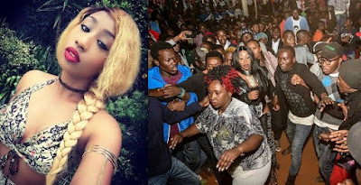 """To the guy that grabbed my ass, you deserved the hot slap you got in the face"" – Victoria Kimani."
