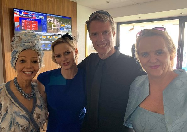 "Princess Charlene attended ""Princess Charlene of Monaco Royal Race Day"" event at Turffontein Racecourse"