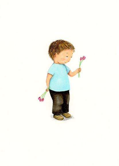 boy illustration yara dutra